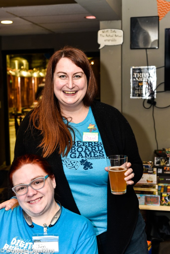 Cheryl Harrison Beers and Board Games of Columbus, 24 Hour Board Game Marathon for Nationwide Children's Hospital 2018