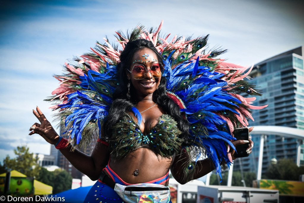 Carnival outfit, Columbus Caribbean Festival 2018
