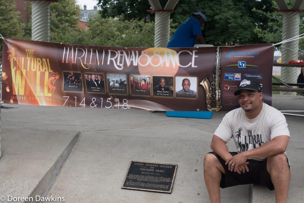 Al Edmondson. Promoter of the Cultural Wall Music Festival