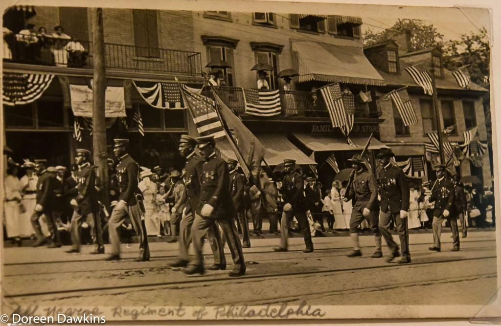 (All negro regiment of Philadelphia 1918): I, Too Sing America: the Harlem Renaissance at 100