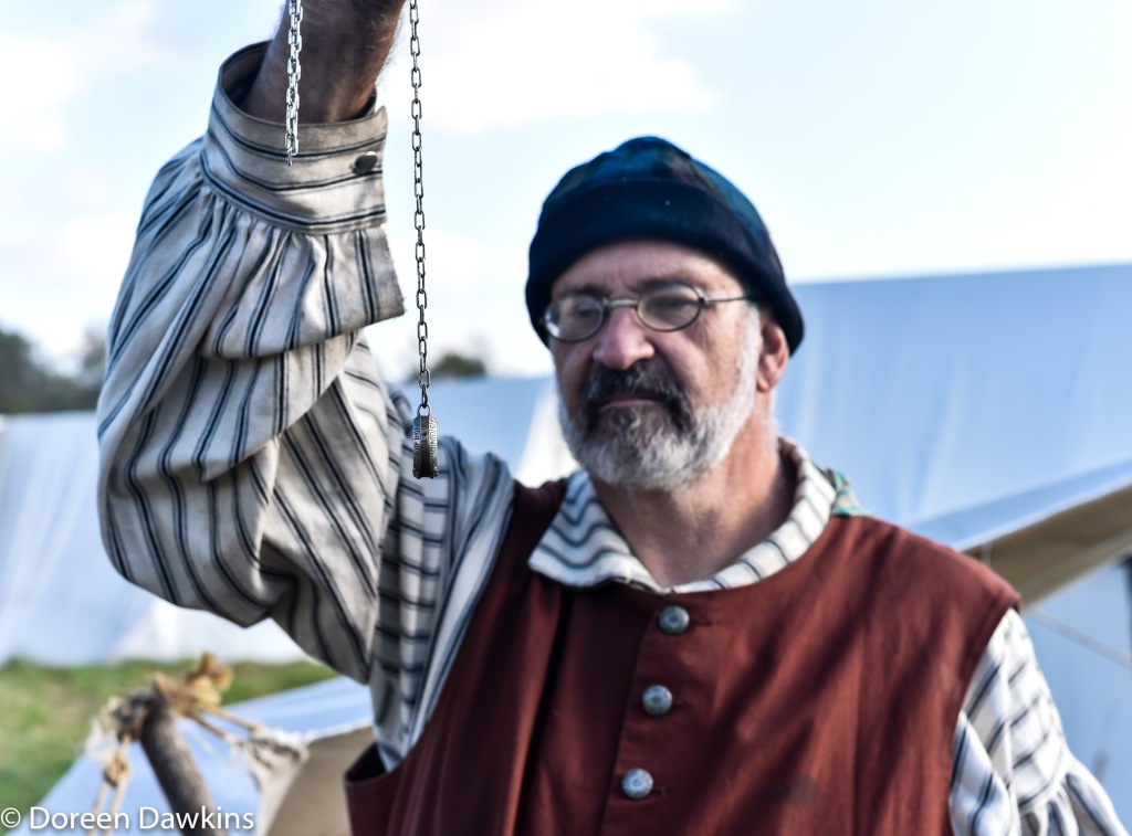 Vince Alessi with an Aquitaine ring at the Harvest Moon Rendezvous 2018