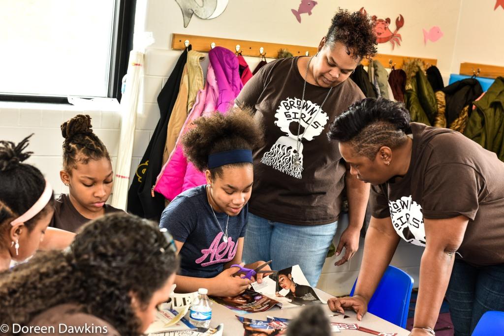 Toni, A parent, Brown Girls Mentoring
