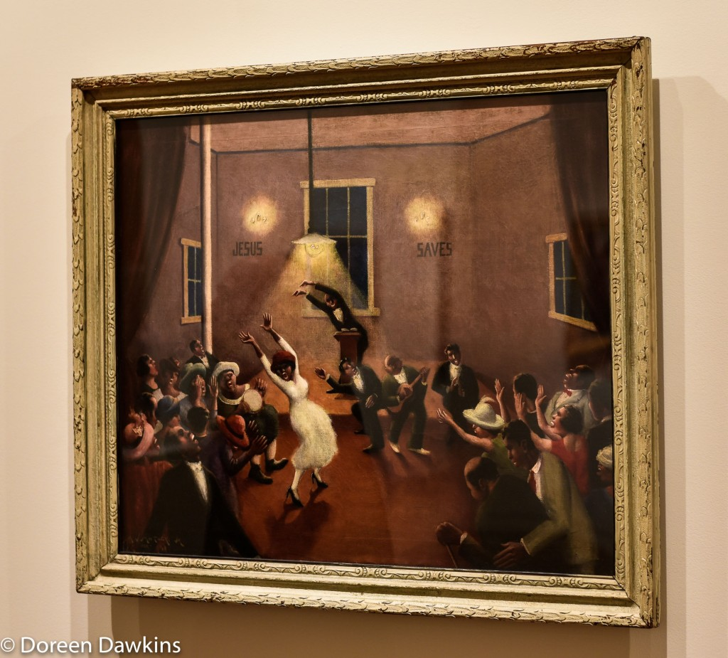 Tongues (Holy Rollers) painted in 1929 by Archibald John Motley Jr: I, Too Sing America: the Harlem Renaissance at 100