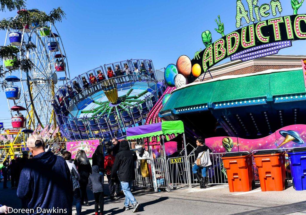 """Real"" rides, Circleville Pumpkin Show 2018"