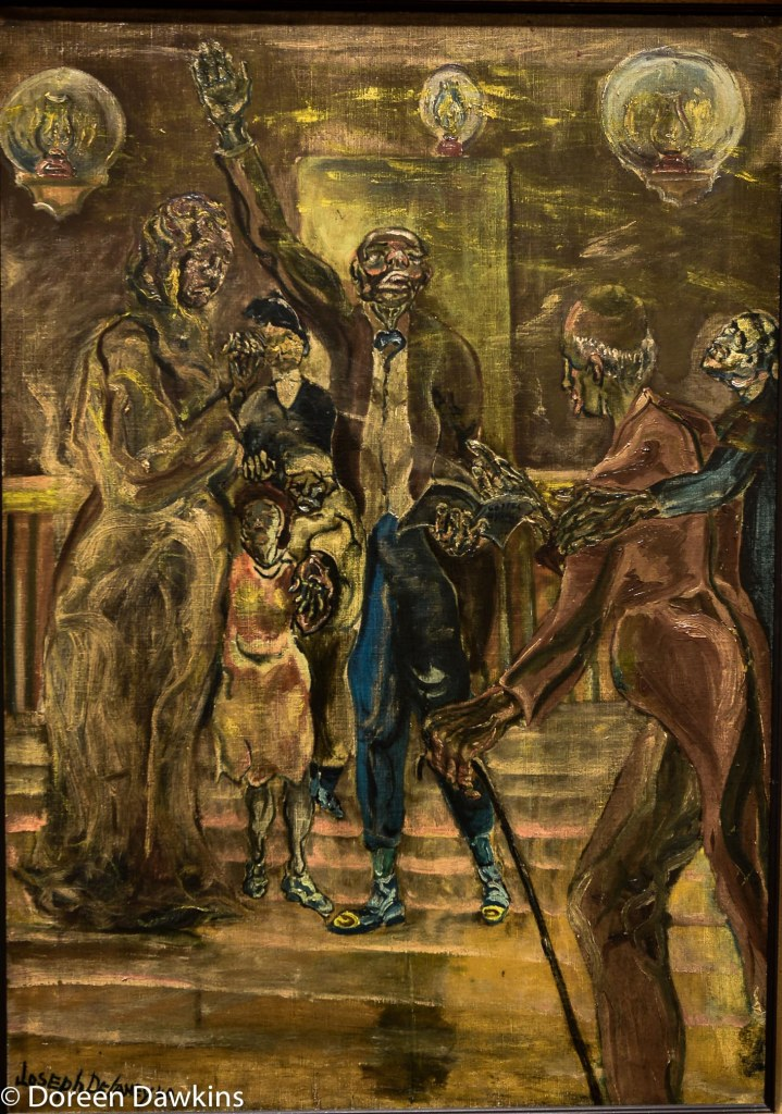 Revival painted in 1940 by Joseph Delaney: I, Too Sing America: the Harlem Renaissance at 100