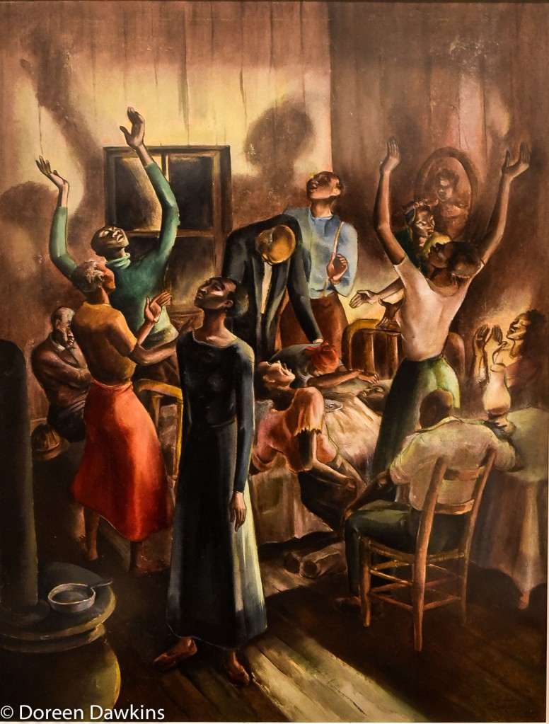 Midnight Vigil painted about 1936 by Charles Alston: I, Too Sing America: the Harlem Renaissance at 100