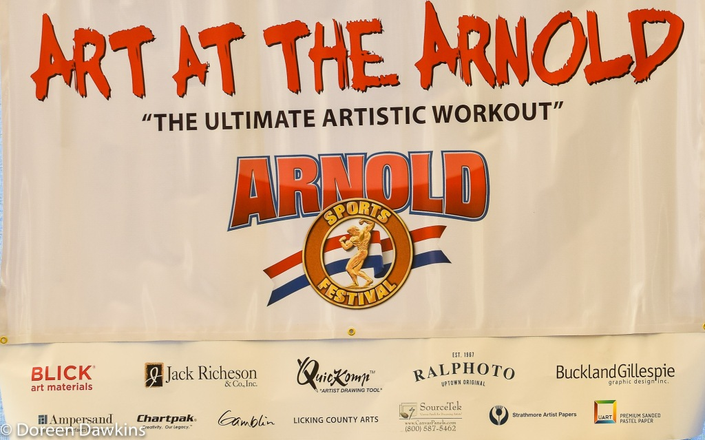 Art at the Arnold, Arnold Sports Festival USA 2019: On the Cheap