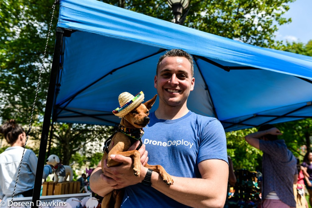In style at the Columbus Taco Fest 2019, pet friendly