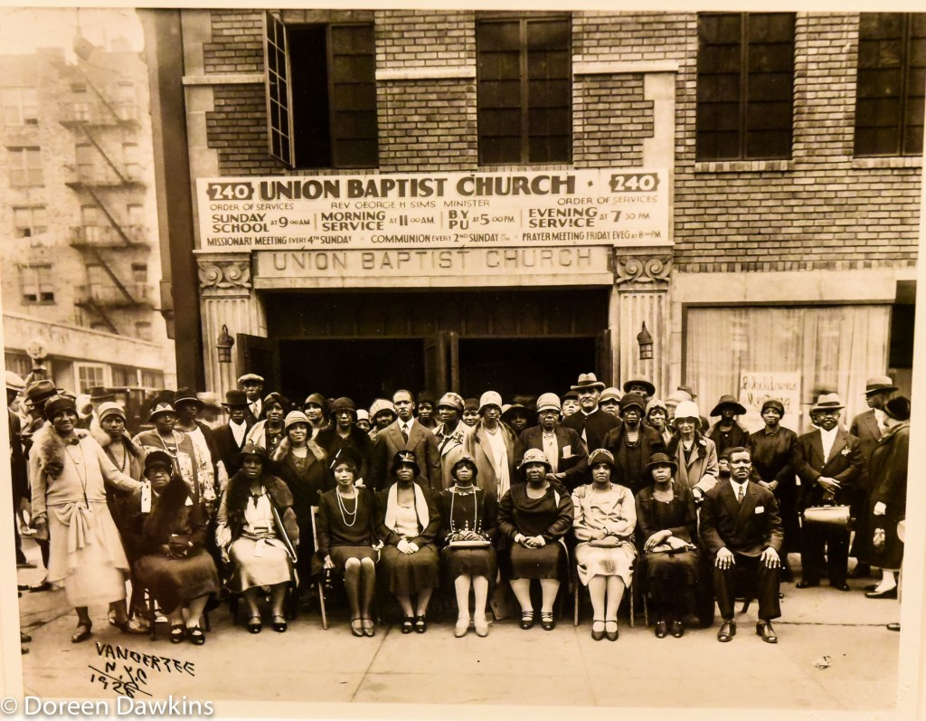 Union Baptist Church 1928: I, Too Sing America: the Harlem Renaissance at 100