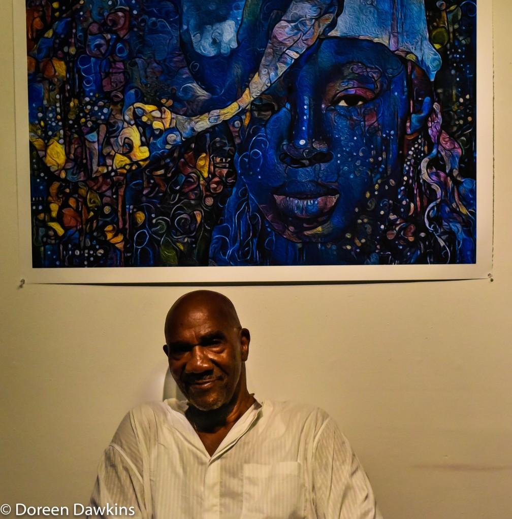 "Hakim Raquib, ""Gele"", African Village Arts Festival 2018"