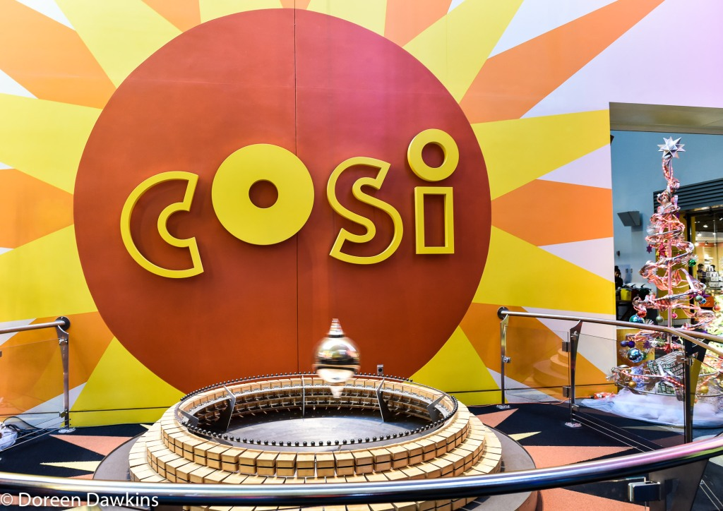 Foucault pendulum, Center of Science and Industry (COSI)