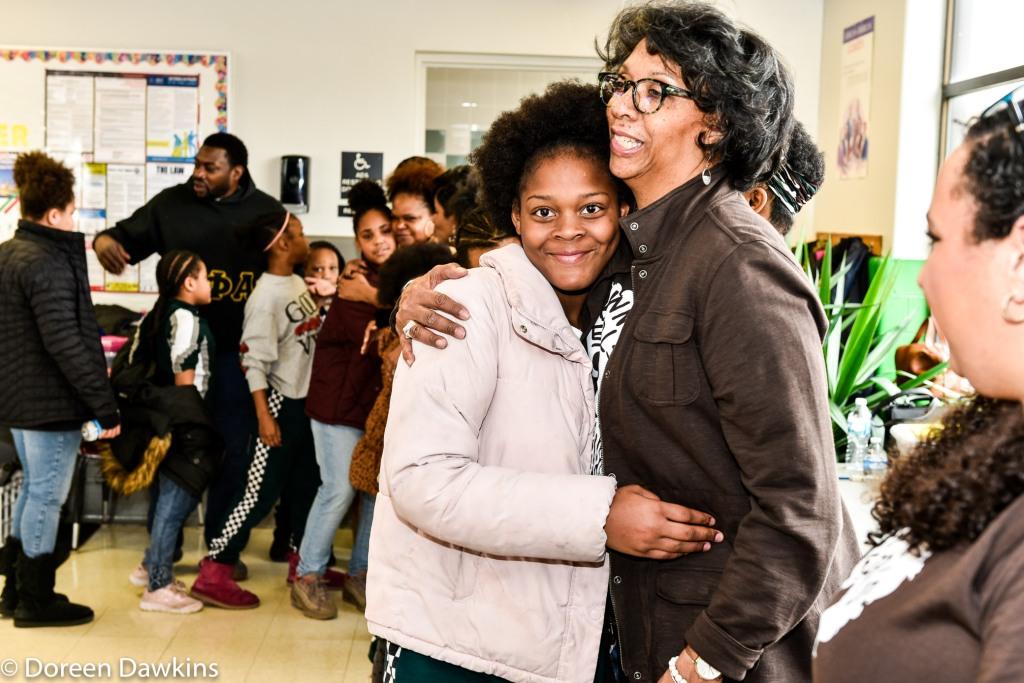 Hug line, Brown Girls Mentoring