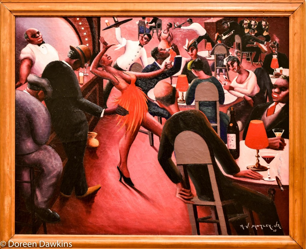 Saturday Night painted in 1937 by Archibald John Motley Jr.: I, Too Sing America: the Harlem Renaissance at 100