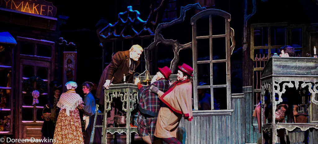 "Scrooge only caring about himself, ""A Christmas Carol"""
