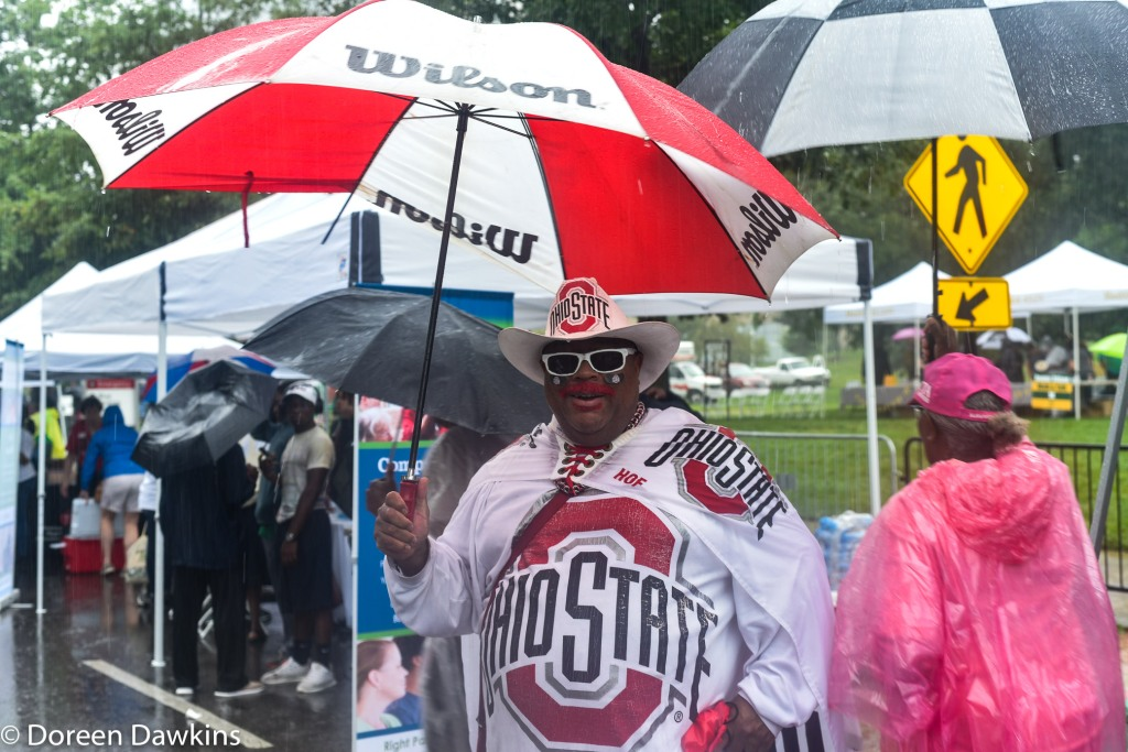 Buck-I-Guy (John Chubb) at the African American Male Wellness Walk 2018