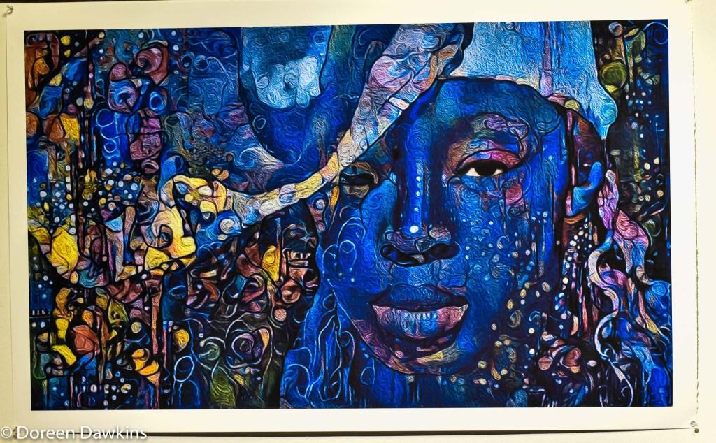 """Gele"",  Hakim Raquib, African Village Arts Festival 2018"