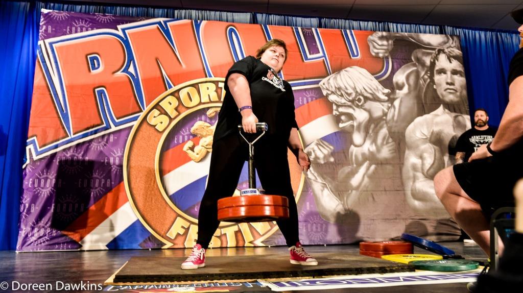 Mervi Pekki, IG: powermervi (Armlifting participant), Arnold Sports Festival USA 2019: Armlifting