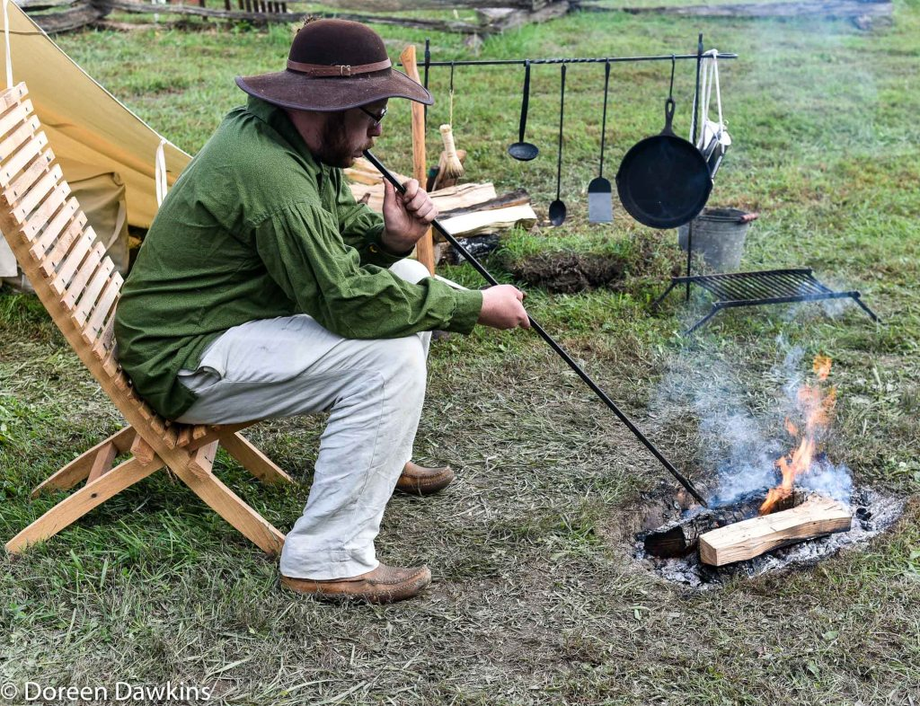 Keeping fire going… Harvest Moon Rendezvous 2018