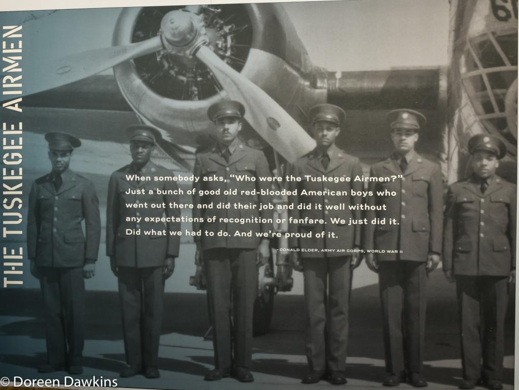 Tuskegee Airman exhibit, National Veterans Memorial and Museum