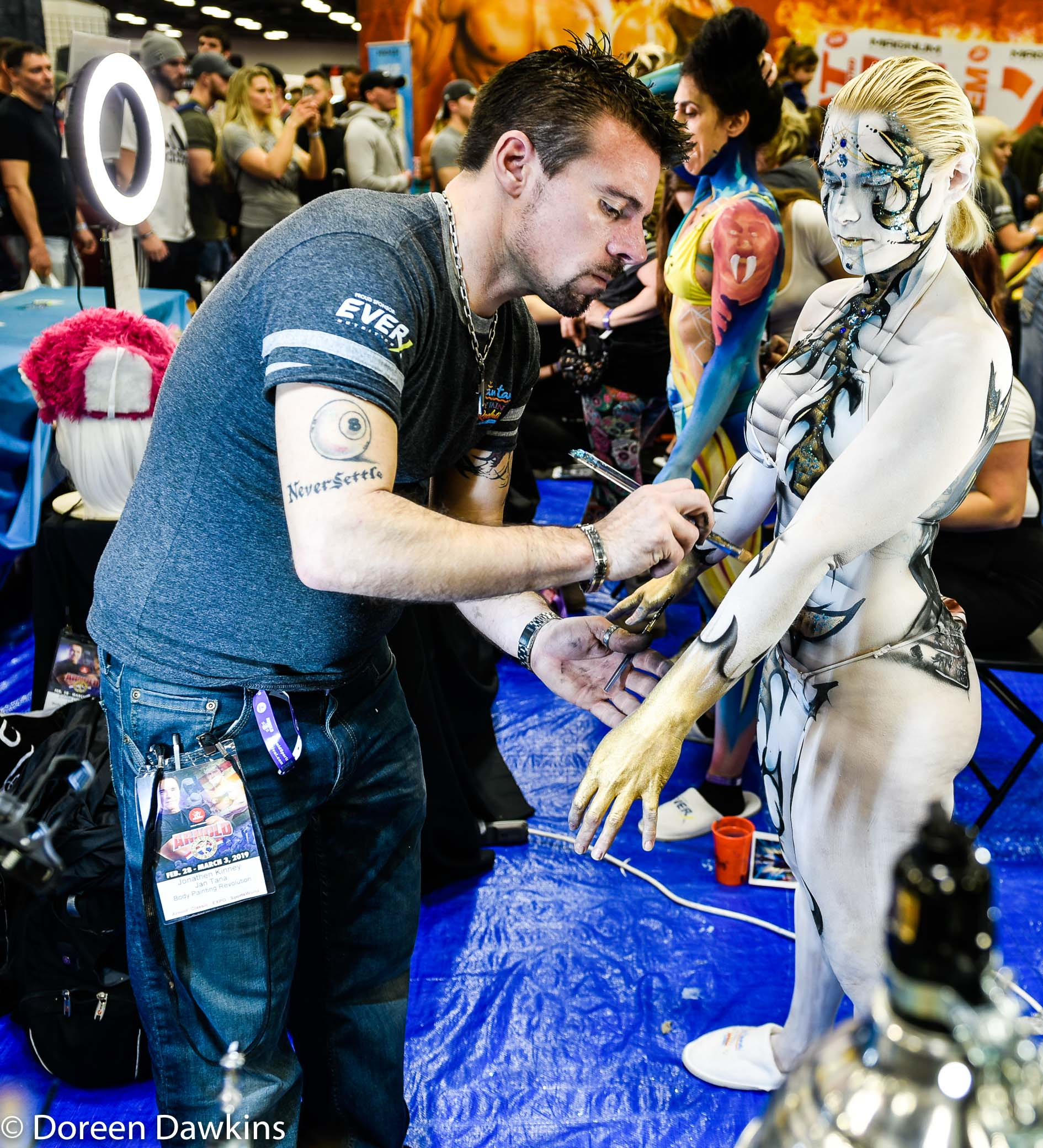Arnold Sports Festival Usa 2019 Body Paint Competition 614whats2love