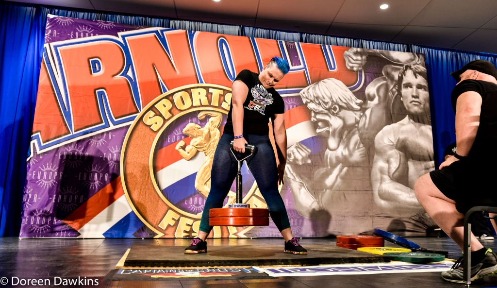Nicole Higham (Armlifting participant), Arnold Sports Festival USA 2019: Armlifting
