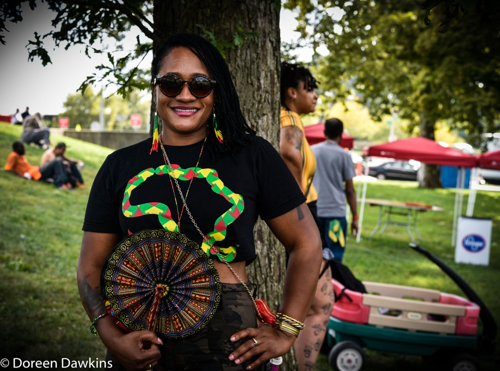 Destiny Dunn at Columbus Caribbean Festival 2018