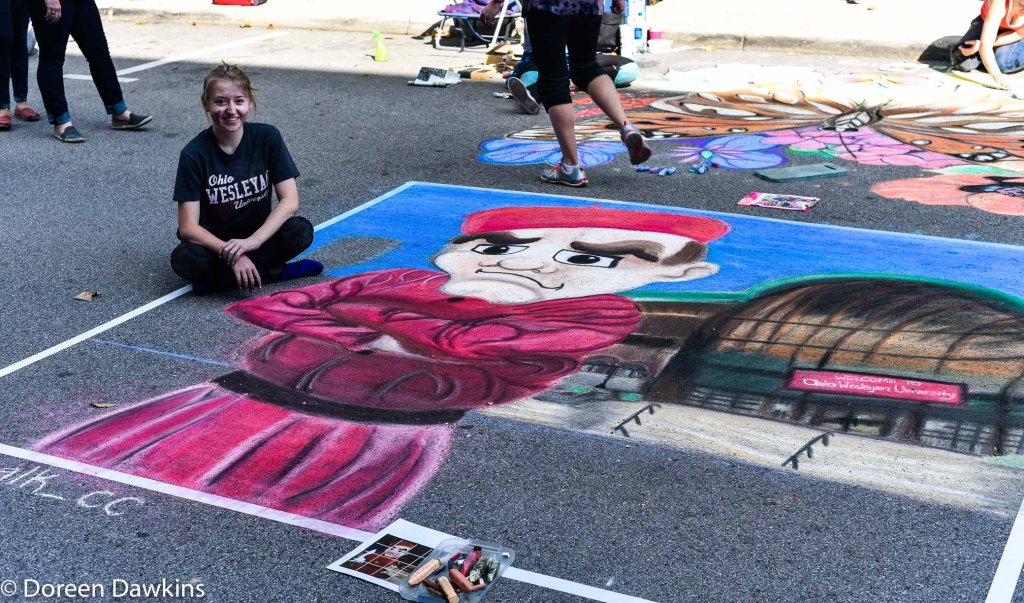 CeCe Coldwell, Chalk the Block 2018