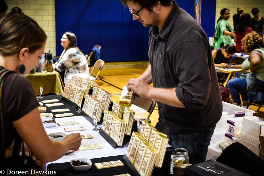 Gary Whelpdale of Whelpdale Chocolates at Columbus VegFest 2018