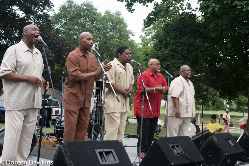 The Vessels of Christ performing at the Cultural Wall Music Festival