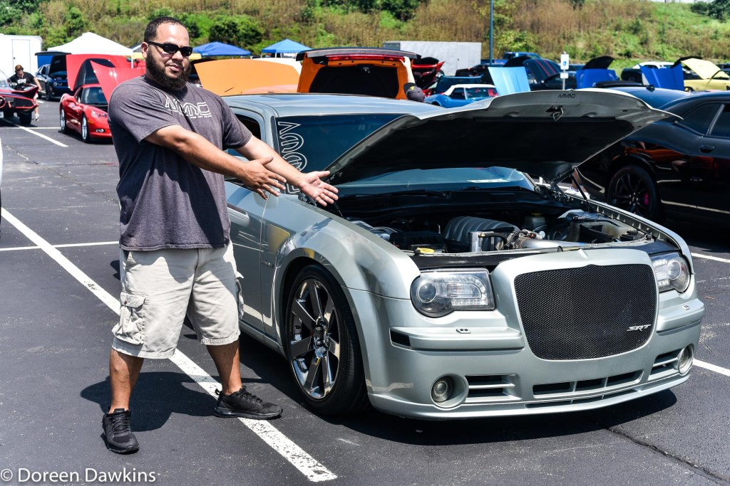 Chris Tudor, 2007 dodge Magnum at the Jax Wax Car Show 2018