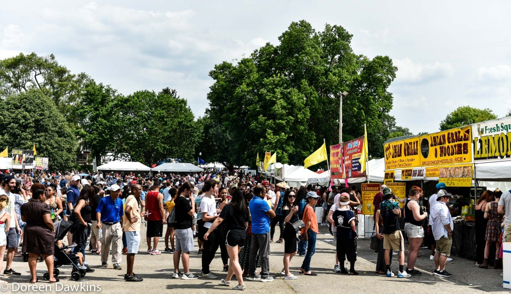 Food trucks, Asian Festival