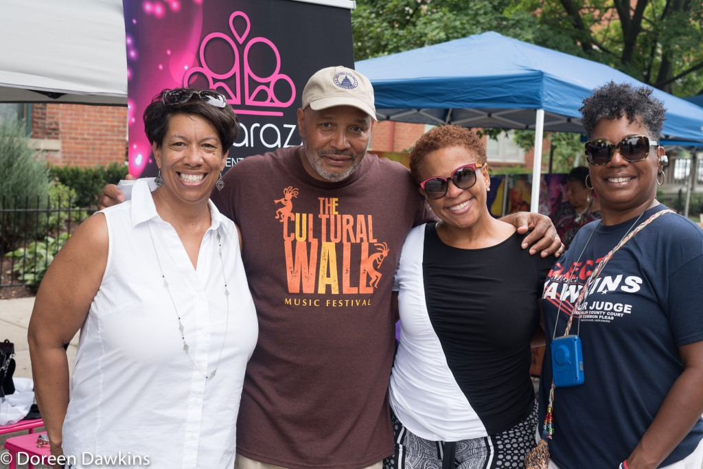 Attendees at Cultural Wall Music Festival 2018