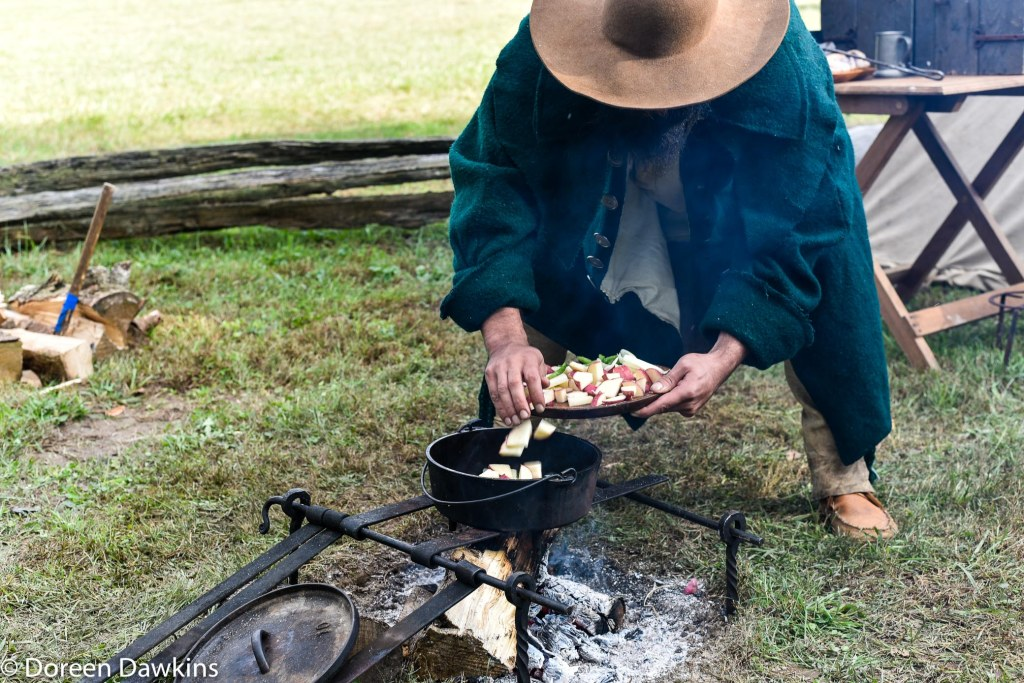 Cooking at the Harvest Moon Rendezvous 2018