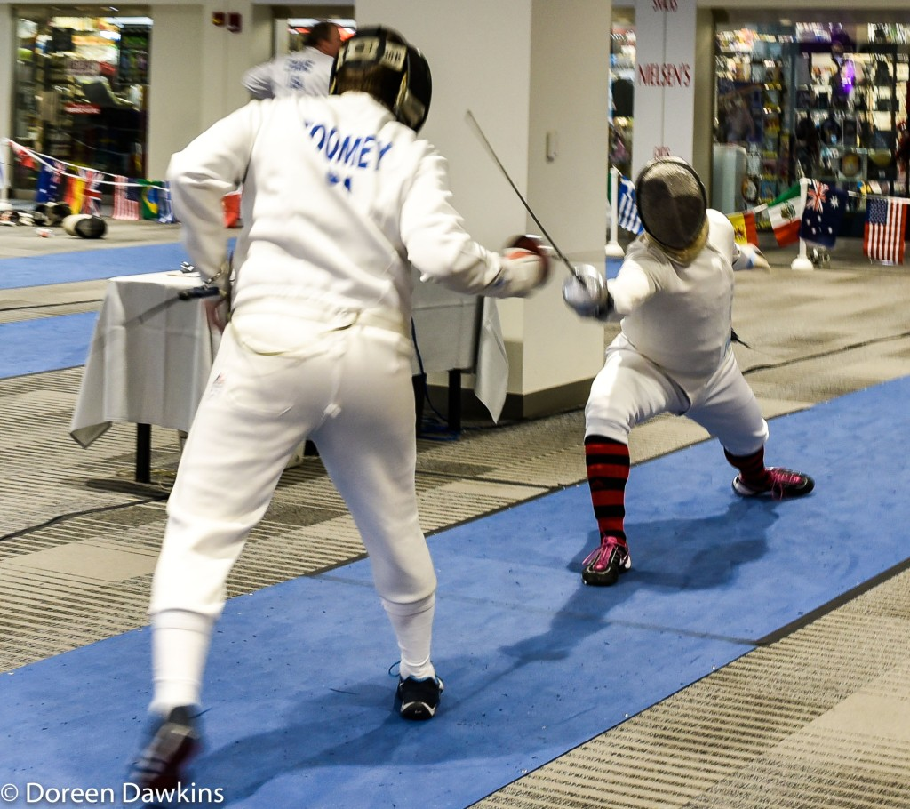 Fencing. Arnold Sports Festival USA 2019: On the Cheap