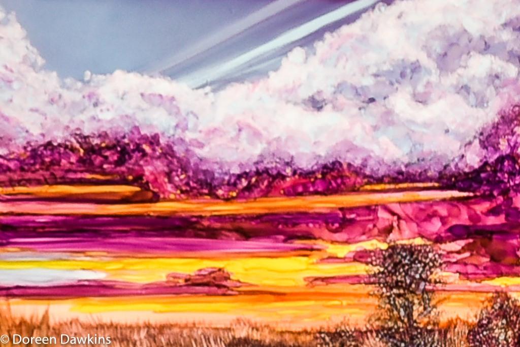 Work by Bernard Pawcheck, Short North Gallery Hop
