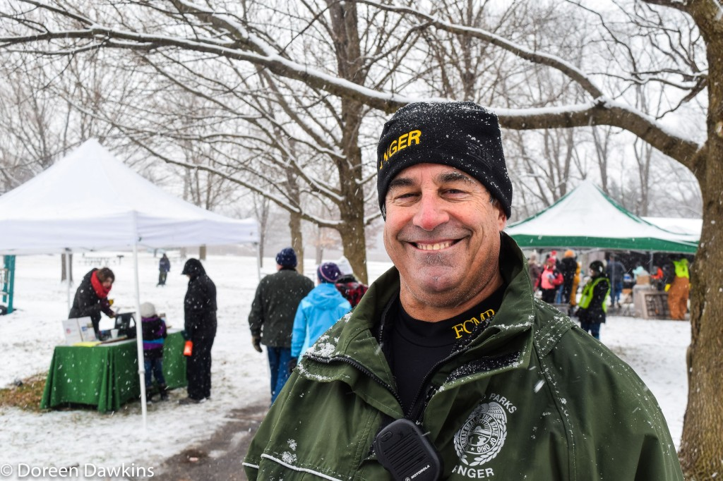 Larry Peck, Deputy Director of Metro Parks, Sharon Woods Metro Park Winter Hike