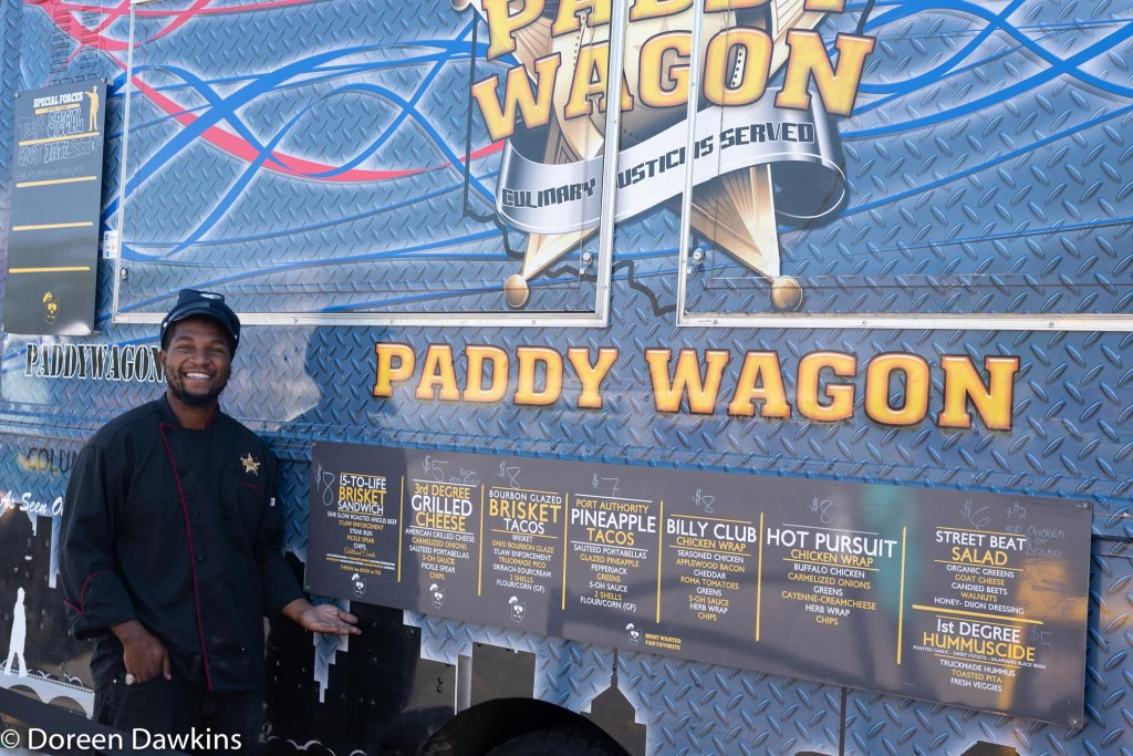 Tony of the Paddy Waggon at the Whitehall food truck festival 2018