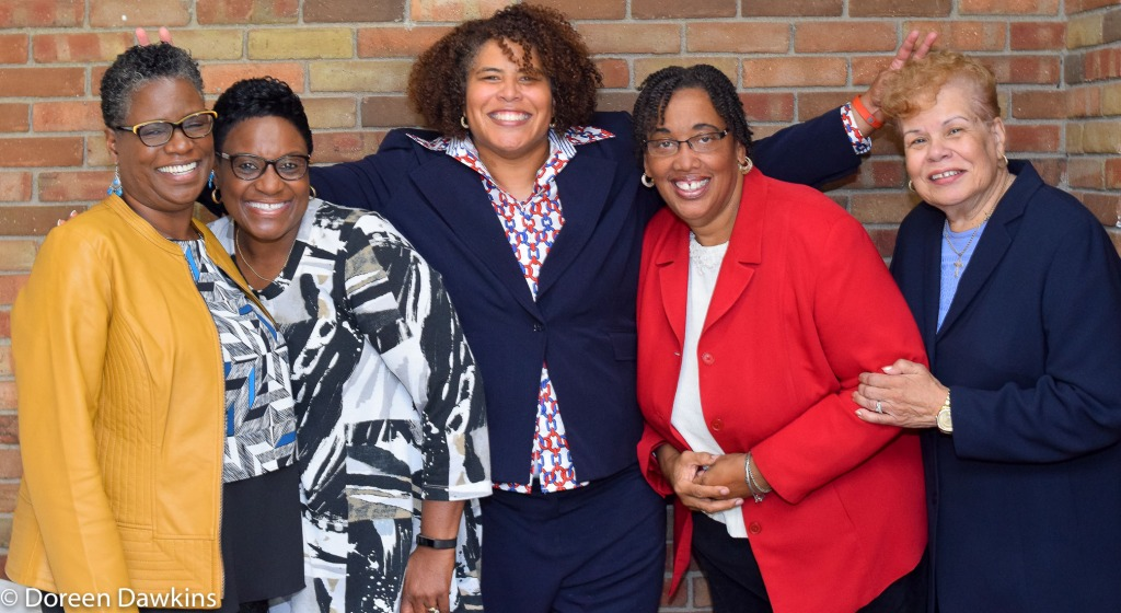 Leaders having fun at the Women of Purpose Fellowship