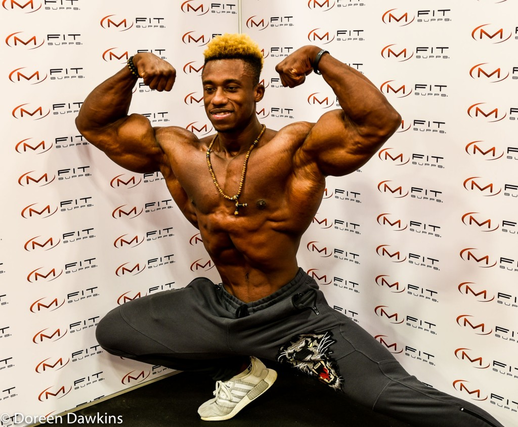 Steve Laureus (second place classic physique), Arnold Sports Festival USA 2019: A Splash of Color