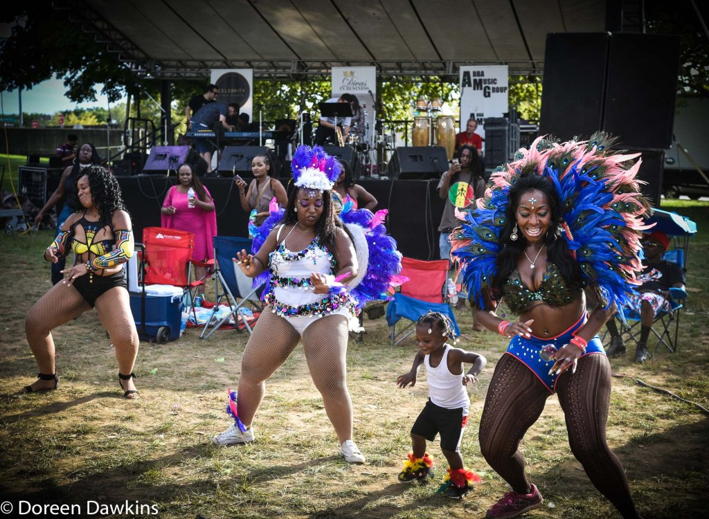 Dancing at rhe Caribbean Festival 2018