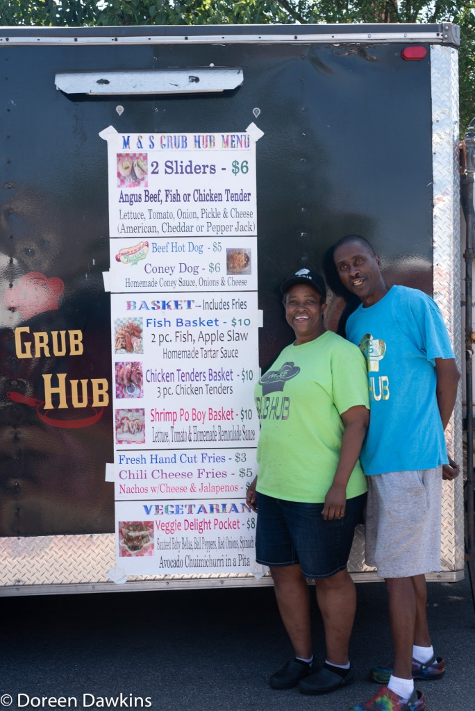 M&S Grub Hub at the Whitehall food truck festival 2018