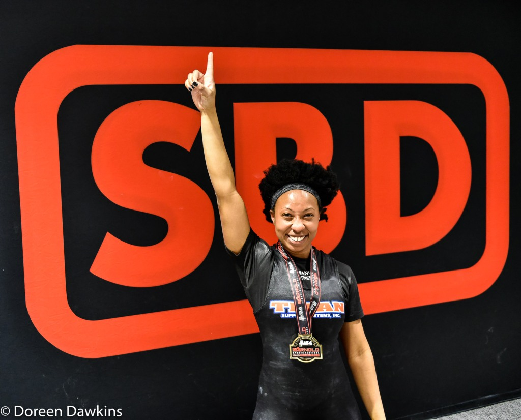 Arnold Sports Festival USA 2019: Solana Lewis (63 Kg IPF Junior World Champion) Instagram @Solan_lifts