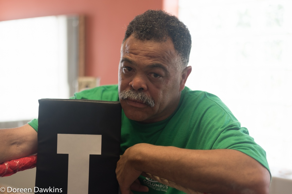 Jerry Page… No joke!, Introducing Beatty Community Center Boxing and Jerry Page