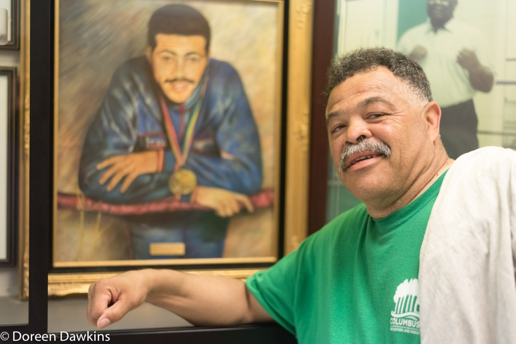 Jerry page then and now, Introducing Beatty Community Center Boxing and Jerry Page