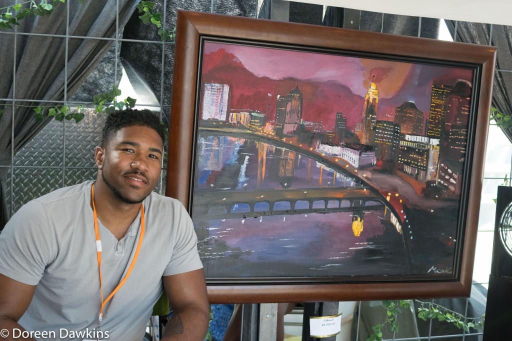 Monde Hale (paintings), Columbus Arts Festival 2018