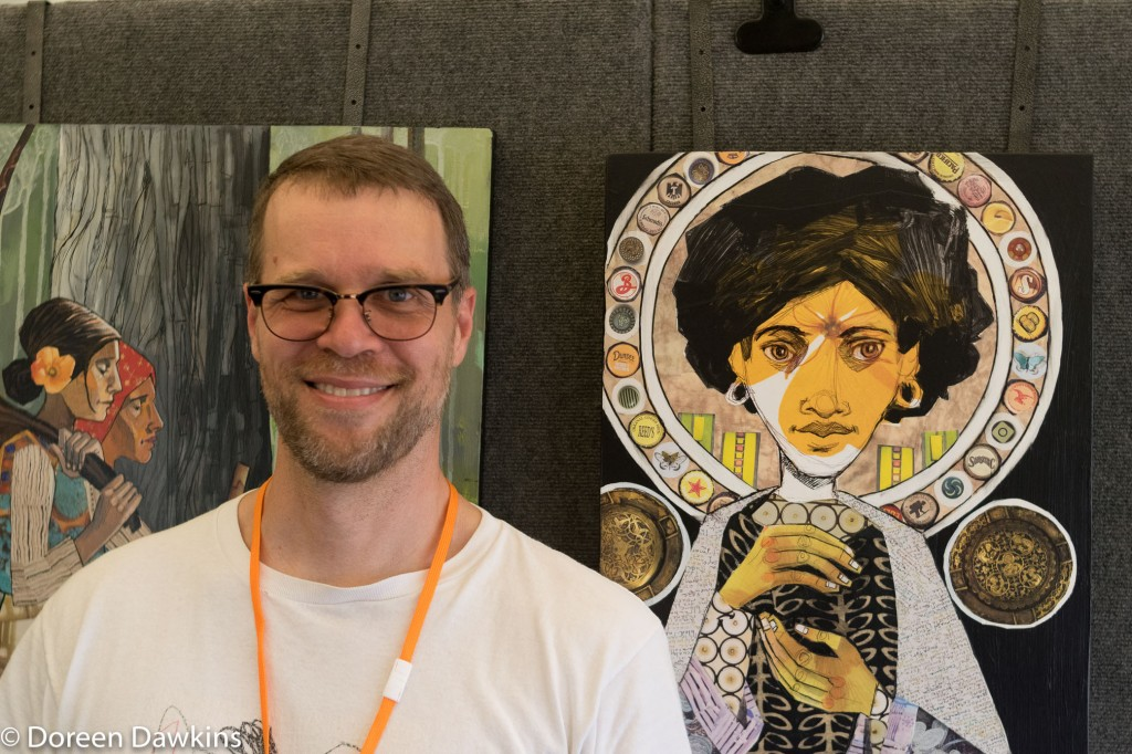 Cody F. Miller (2D Mixed Media), Columbus Arts Festival 2018