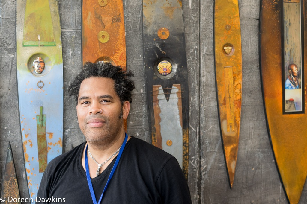 William Cowherd (Neo Ancient Tribal 2D Mixed Media), Columbus Arts Festival 2018