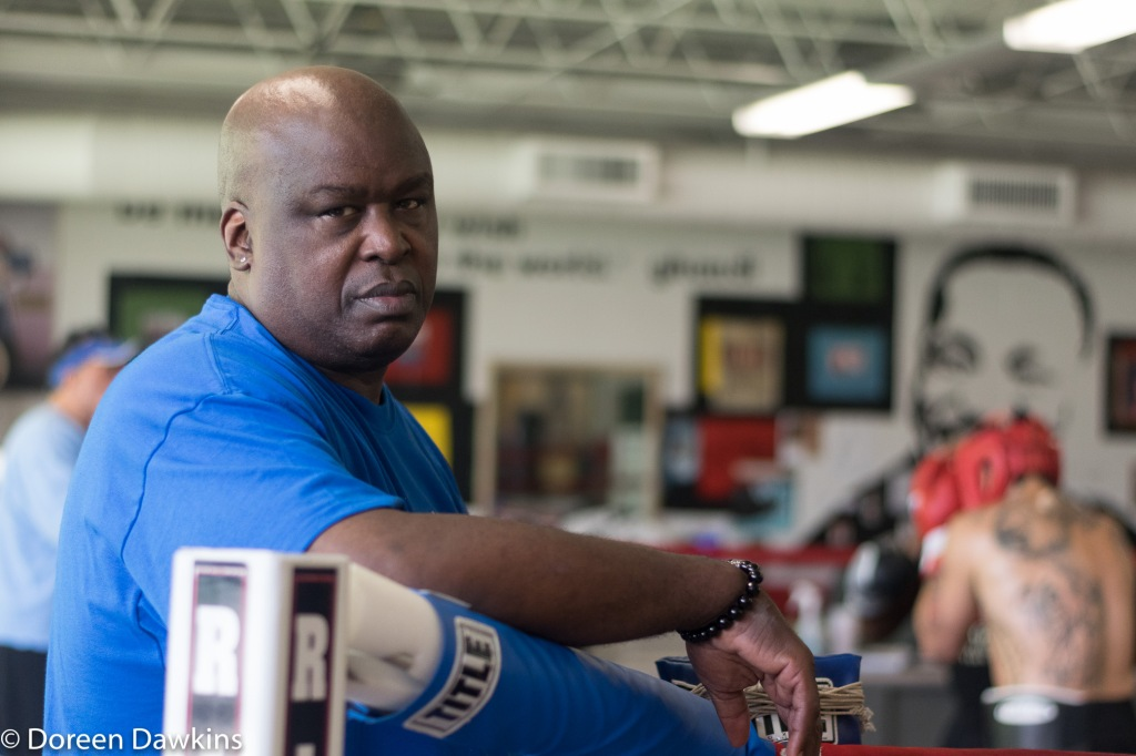 "James ""Buster"" Douglas, A day at the gym., Thompson Community Center Boxing and James ""Buster"" Douglas"