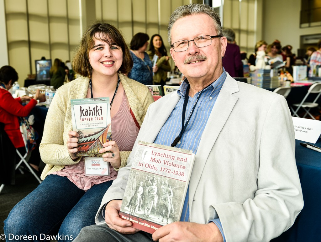 David Meyers and Elise Meyers Walker authors of Lynching and Mob Violence in Ohio, Instagram: @explodingstove, Ohioana Book Festival