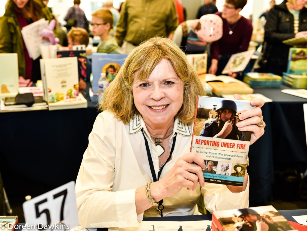 Kerrie Hollihan author of Reporting Under Fire: 16 Daring Women War Correspondents and Photojournalists (Women of Action), Ohioana Book Festival
